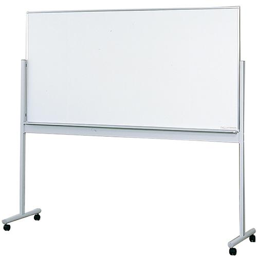 生興 スタンド式ホワイトボード両面型 W1800×H900
