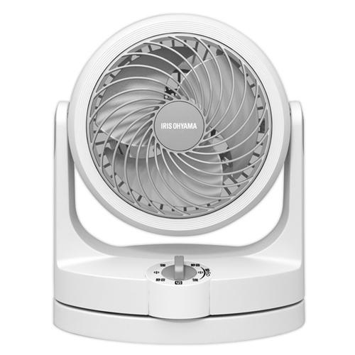 【8/22から出荷予定】アイリスオーヤマ コンパクトサーキュレーター 首振りタイプ ホワイト PCF-HD15