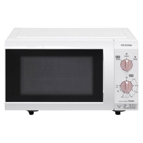 アイリスオーヤマ 電子レンジ フラットテーブル 18L ピンクゴールド IMB-F184-5-WPG