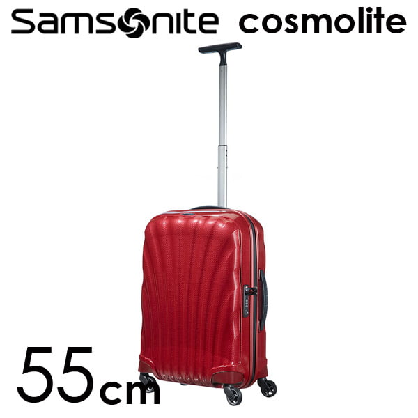 Samsonite スーツケース Cosmolite3.0 コスモライト3.0 55cm レッド 73349-172/V22-00-302