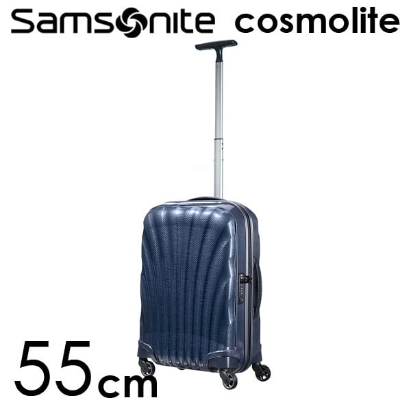 Samsonite スーツケース Cosmolite3.0 コスモライト3.0 55cm ミッドナイトブルー 73349-154/V22-31-302