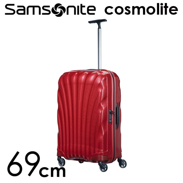 Samsonite スーツケース Cosmolite3.0 コスモライト3.0 69cm レッド 73350-172/V22-00-306