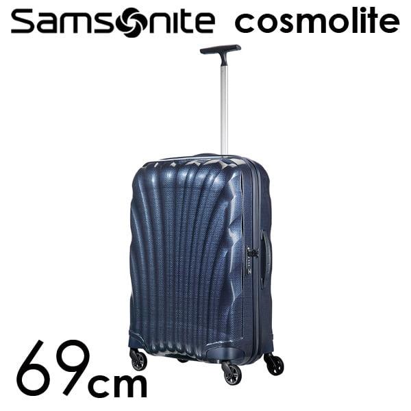 Samsonite スーツケース Cosmolite3.0 コスモライト3.0 69cm ミッドナイトブルー 73350-154/V22-31-306