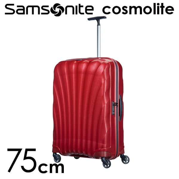 Samsonite スーツケース Cosmolite3.0 コスモライト3.0 75cm レッド 73351-172/V22-00-304【他商品と同時購入不可】