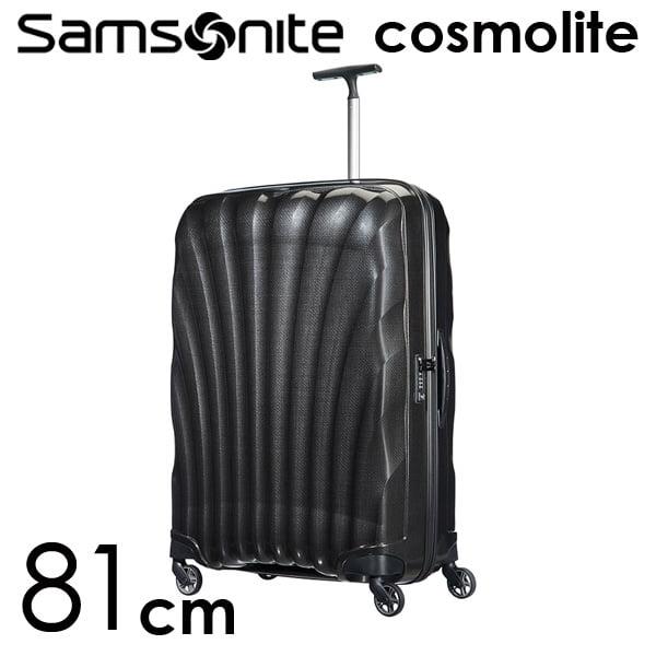 Samsonite スーツケース Cosmolite3.0 コスモライト3.0 81cm ブラック 73352-104/V22-09-307【他商品と同時購入不可】