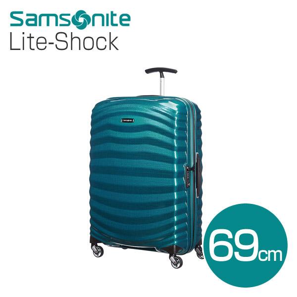 サムソナイト ライトショック 69cm ペトロールブルー Lite-Shock 98V-01-002