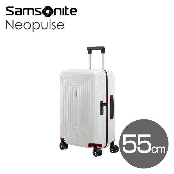 Samsonite スーツケース Neopulse ネオパルス スピナー 55cm マットホワイト 65752-5406