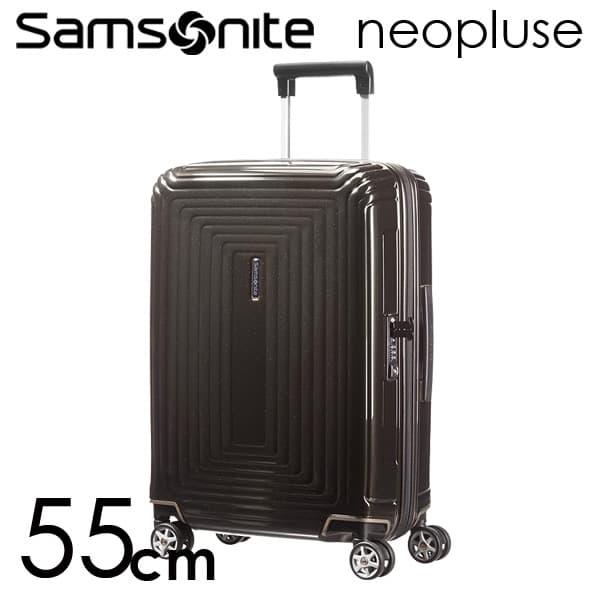 Samsonite スーツケース Neopulse ネオパルス スピナー 55cm メタリックブラック 65752-2368