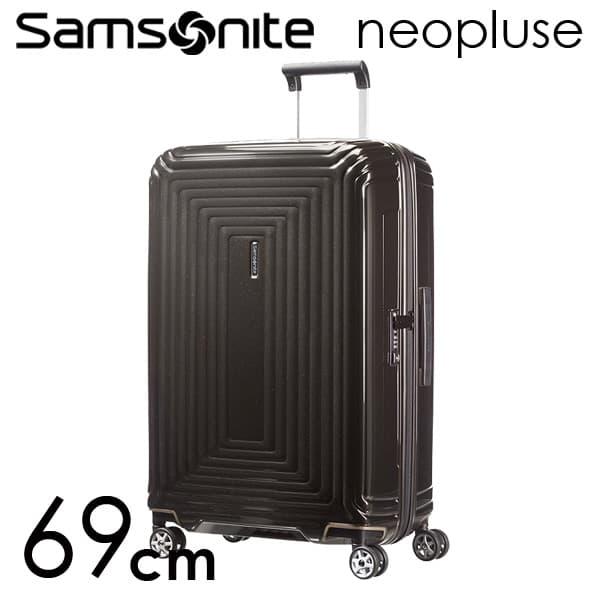 Samsonite スーツケース Neopulse ネオパルス スピナー 69cm メタリックブラック 65753-2368