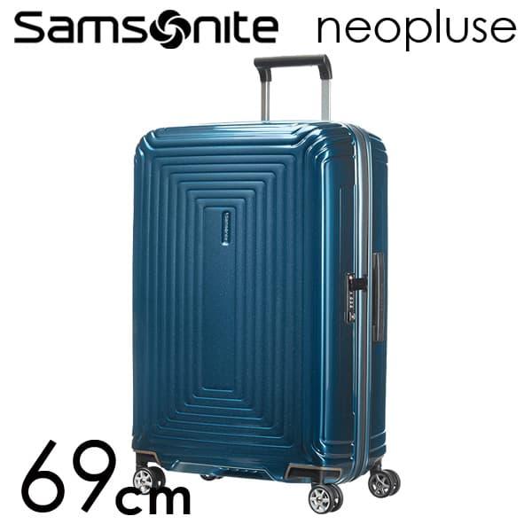 Samsonite スーツケース Neopulse ネオパルス スピナー 69cm メタリックブルー 65753-1541