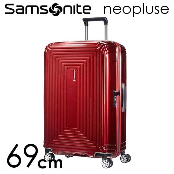 Samsonite スーツケース Neopulse ネオパルス スピナー 69cm メタリックレッド 65753-1544