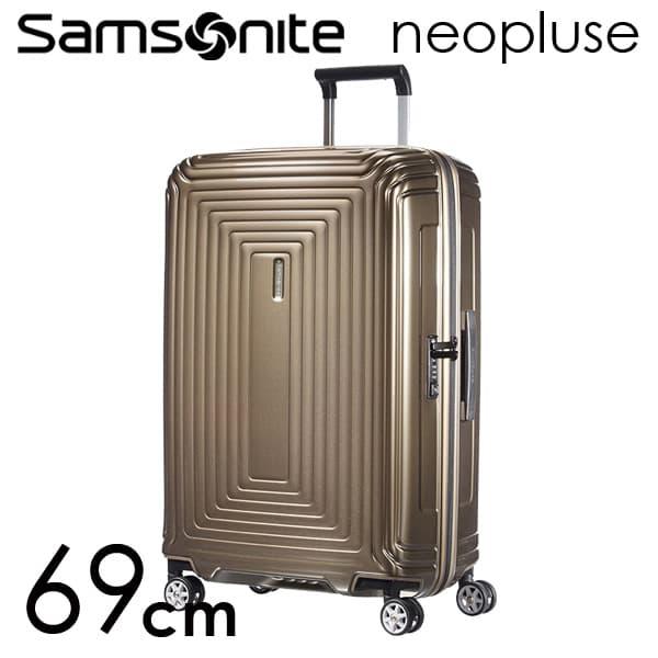 Samsonite スーツケース Neopulse ネオパルス スピナー 69cm メタリックサンド 65753-4535