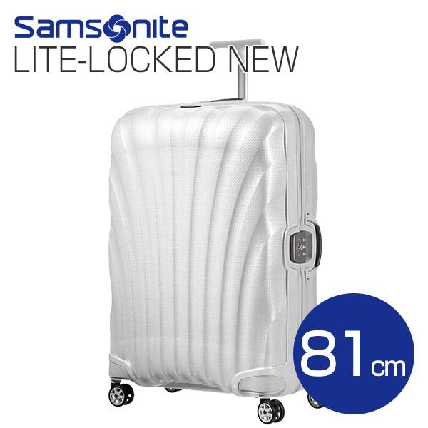 Samsonite スーツケース Litelocked NEW ライトロックト 81cm オフホワイト 76463-1627/01V-35-104