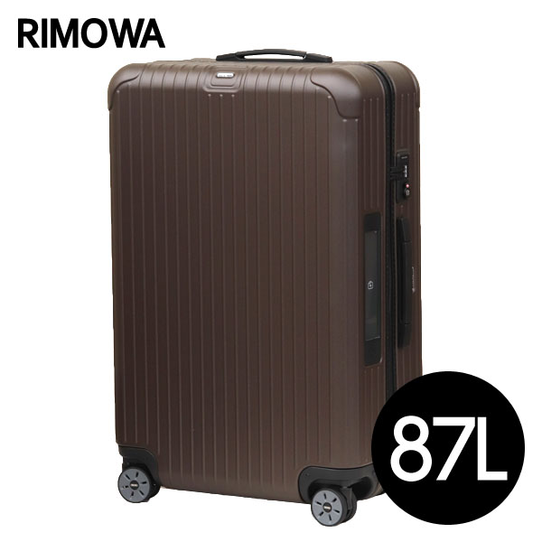 Rimowa スーツケース SALSA E-Tag 87L マットブロンズ 811.73.38.5【他商品と同時購入不可】
