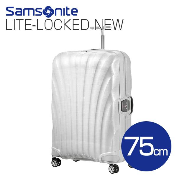 Samsonite スーツケース Litelocked NEW ライトロックト 75cm オフホワイト 76462-1627