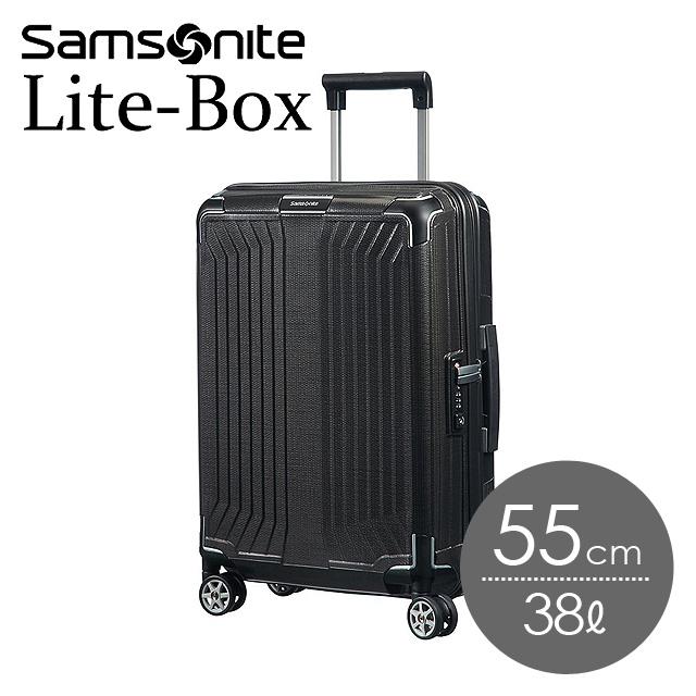 サムソナイト ライトボックス 55cm ブラック Lite-Box 79297-1041