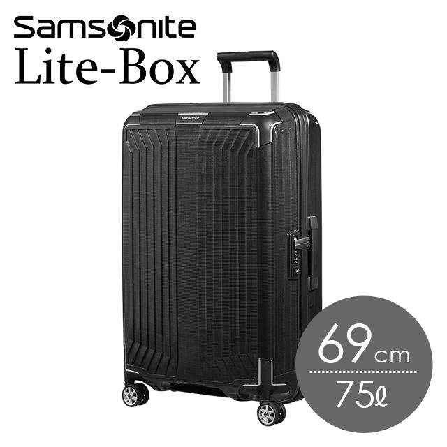 サムソナイト ライトボックス 69cm ブラック Lite-Box 79299-1041