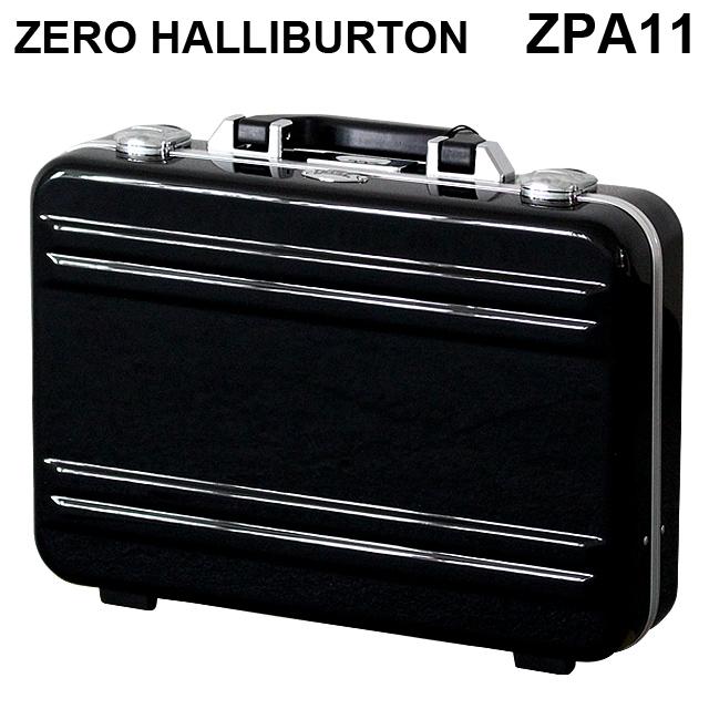ゼロハリバートン ZERO HALLIBURTON クラシック ポリカーボネート アタッシュケース フレームタイプ スモール ブラック B4対応 80634 ZPA11-BK