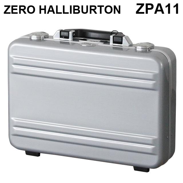 ゼロハリバートン ZERO HALLIBURTON クラシック ポリカーボネート アタッシュケース フレームタイプ スモール シルバー B4対応 80634 ZPA11-SI