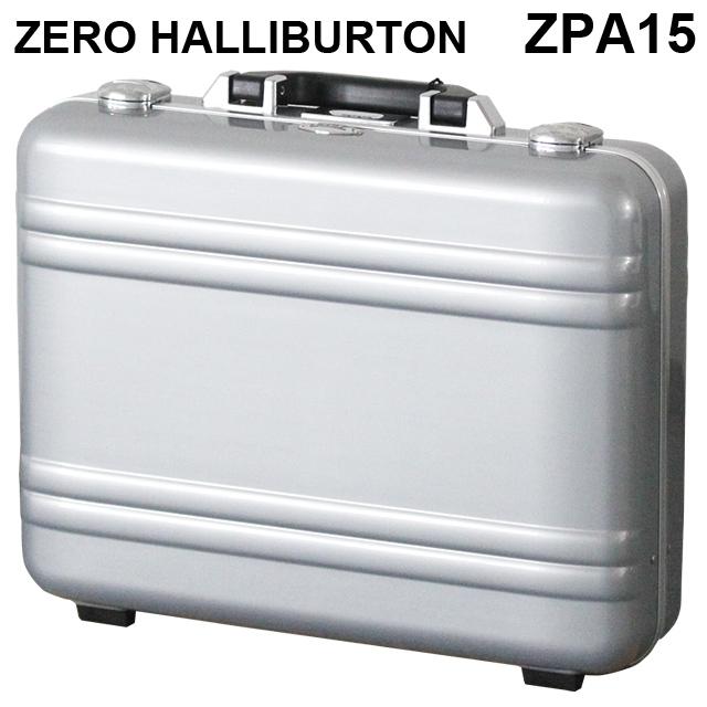 ゼロハリバートン ZERO HALLIBURTON クラシック ポリカーボネート アタッシュケース フレームタイプ ラージ シルバー B4対応 80635 ZPA15-SI
