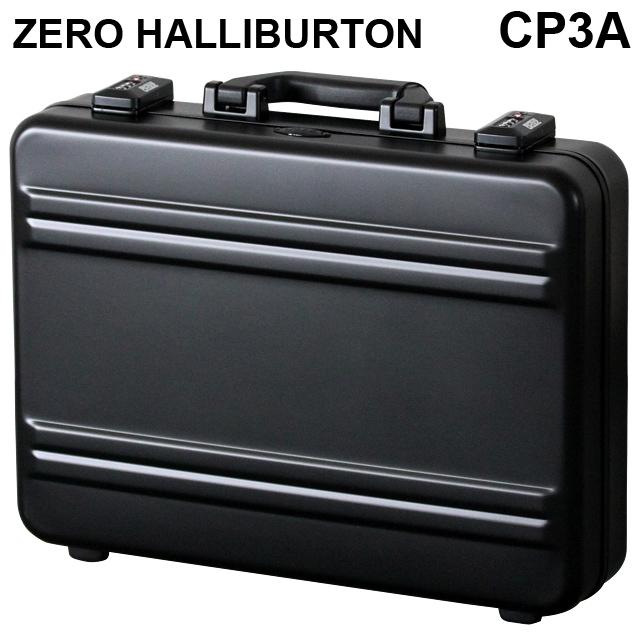 ゼロハリバートン ZERO HALLIBURTON Pシリーズ プレミアシリーズ2 アタッシュケース ブラック A3対応 94331 CP3A-BK