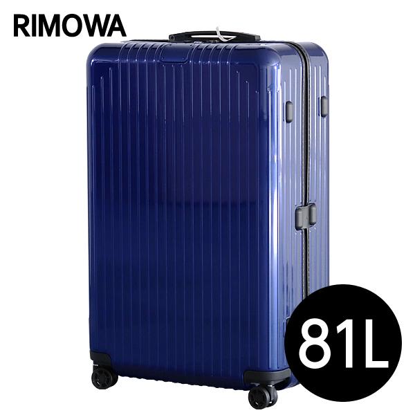 リモワ RIMOWA スーツケース エッセンシャル ライト チェックインL 81L グロスブルー ESSENTIAL Check-In L 823.73.60.4
