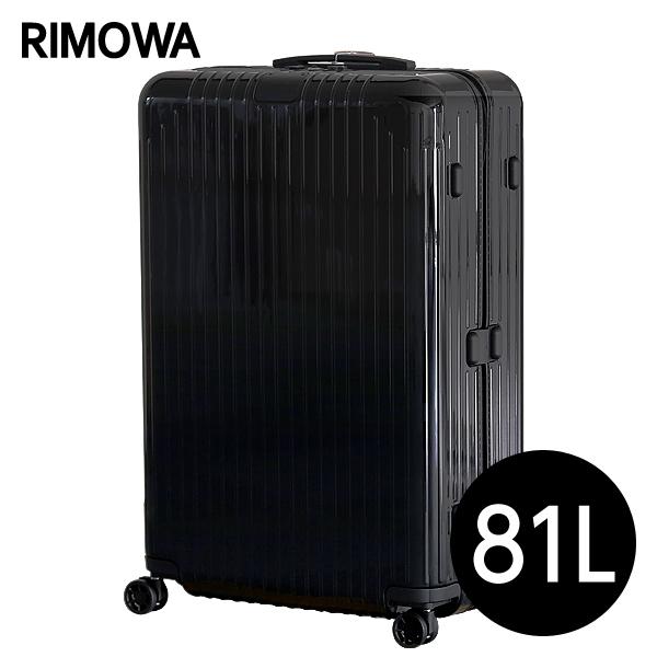 リモワ RIMOWA スーツケース エッセンシャル ライト チェックインL 81L グロスブラック ESSENTIAL Check-In L 823.73.62.4