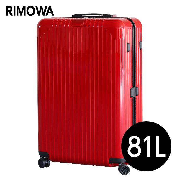 リモワ RIMOWA スーツケース エッセンシャル ライト チェックインL 81L グロスレッド ESSENTIAL Check-In L 823.73.65.4