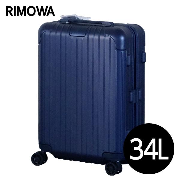 RIMOWA スーツケース エッセンシャル キャビンS 34L マットブルー ESSENTIAL Cabin S 832.52.61.4