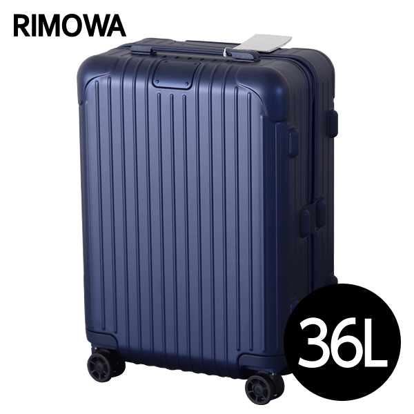 RIMOWA スーツケース エッセンシャル キャビン 36L マットブルー ESSENTIAL Cabin 832.53.61.4