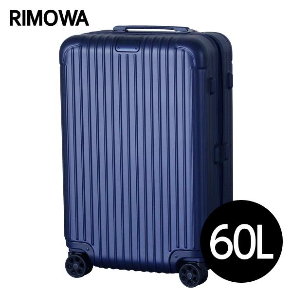 RIMOWA スーツケース エッセンシャル チェックインM 60L マットブルー ESSENTIAL Check-In M 832.63.61.4