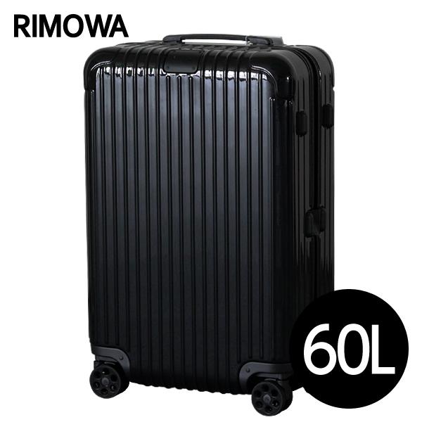 RIMOWA スーツケース エッセンシャル チェックインM 60L グロスブラック ESSENTIAL Check-In M 832.63.62.4