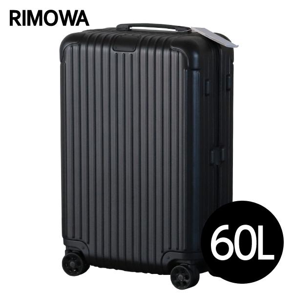 RIMOWA スーツケース エッセンシャル チェックインM 60L マットブラック ESSENTIAL Check-In M 832.63.63.4