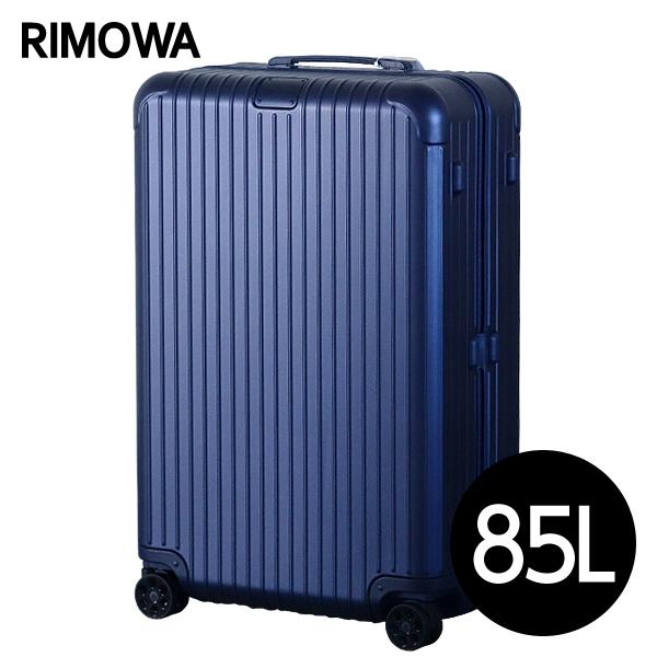 RIMOWA スーツケース エッセンシャル チェックインL 85L マットブルー ESSENTIAL Check-In L 832.73.61.4【他商品と同時購入不可】