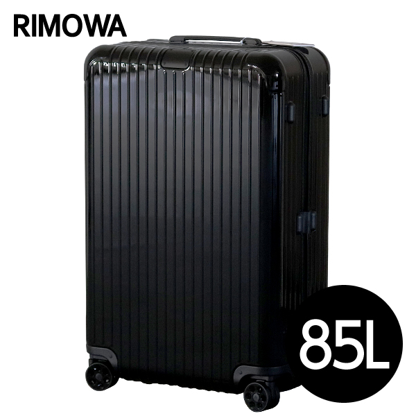 RIMOWA スーツケース エッセンシャル チェックインL 85L グロスブラック ESSENTIAL Check-In L 832.73.62.4【他商品と同時購入不可】