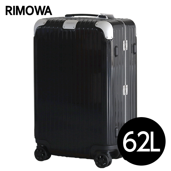 リモワ RIMOWA スーツケース ハイブリッド チェックインM 62L グロスブラック Check-In M 883.63.62.4