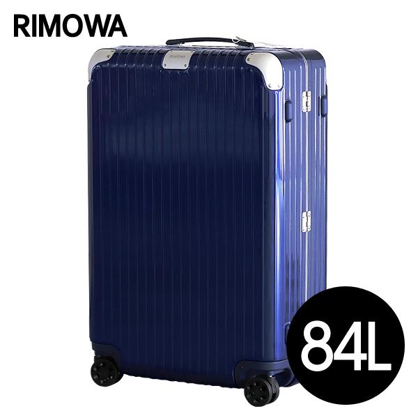 リモワ RIMOWA スーツケース ハイブリッド チェックインL 84L グロスブルー Check-In L 883.73.60.4