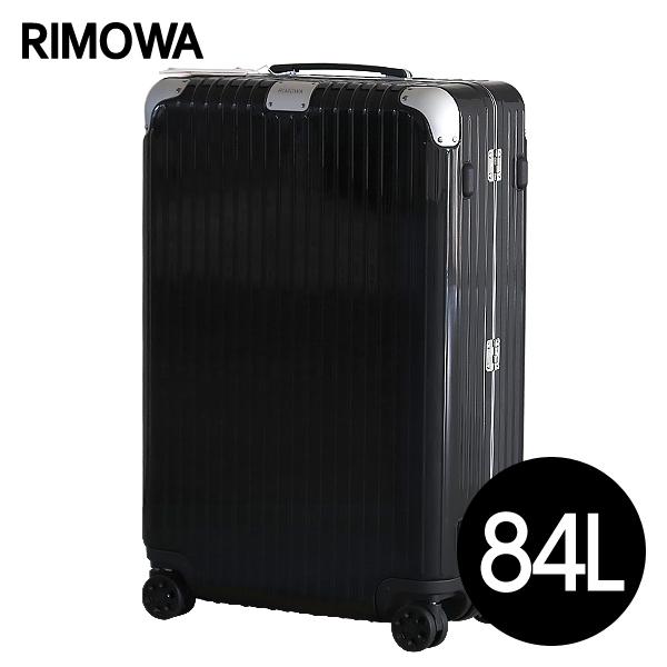 リモワ RIMOWA スーツケース ハイブリッド チェックインL 84L グロスブラック Check-In L 883.73.62.4