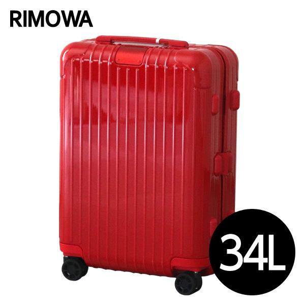 リモワ RIMOWA スーツケース エッセンシャル キャビンS 34L グロスレッド ESSENTIAL Cabin S 832.52.65.4