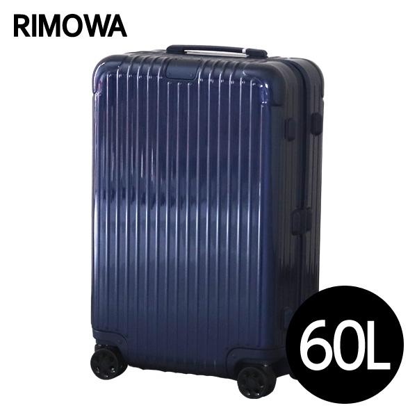 リモワ RIMOWA スーツケース エッセンシャル チェックインM 60L グロスブルー ESSENTIAL Check-In M 832.63.60.4