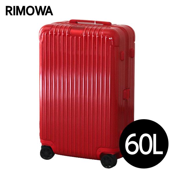 リモワ RIMOWA スーツケース エッセンシャル チェックインM 60L グロスレッド ESSENTIAL Check-In M 832.63.65.4