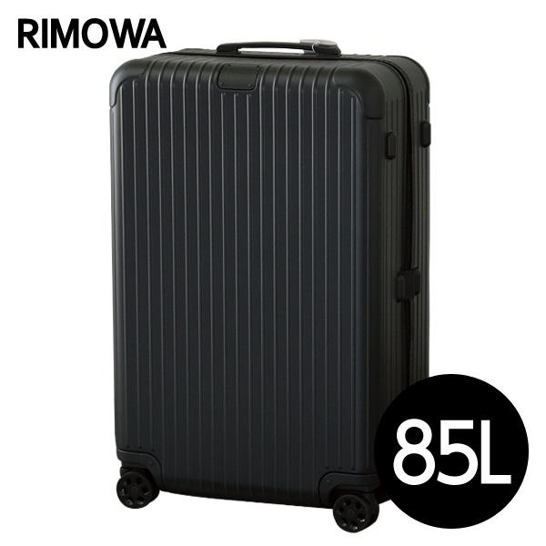 リモワ RIMOWA スーツケース エッセンシャル チェックインL 85L マットブラック ESSENTIAL Check-In L 832.73.63.4【他商品と同時購入不可】