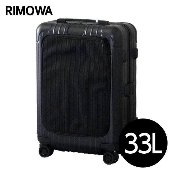 リモワ RIMOWA スーツケース エッセンシャル スリーブ キャビンS 33L マットブラック ESSENTIAL SLEEVE Cabin S 842.52.63.4