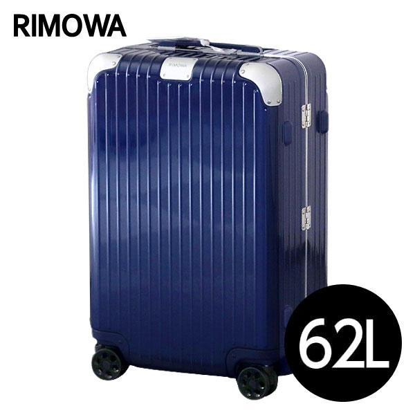 リモワ RIMOWA スーツケース ハイブリッド チェックインM 62L グロスブルー HYBRID Check-In M 883.63.60.4