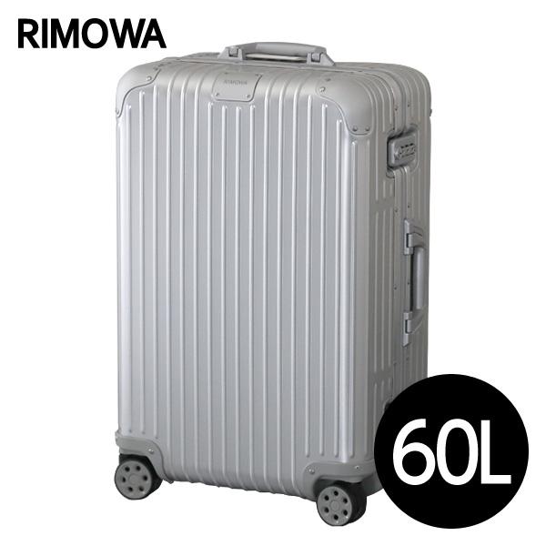 リモワ RIMOWA スーツケース オリジナル チェックインM 60L シルバー ORIGINAL Check-In M 925.63.00.4