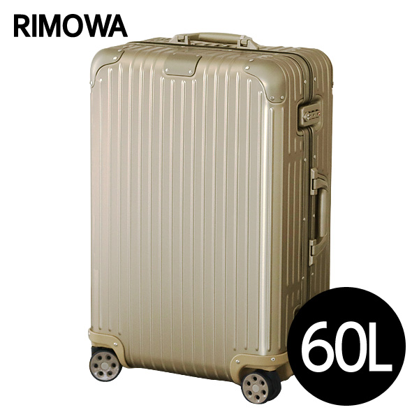 リモワ RIMOWA スーツケース オリジナル チェックインM 60L チタニウム ORIGINAL Check-In M 925.63.03.4