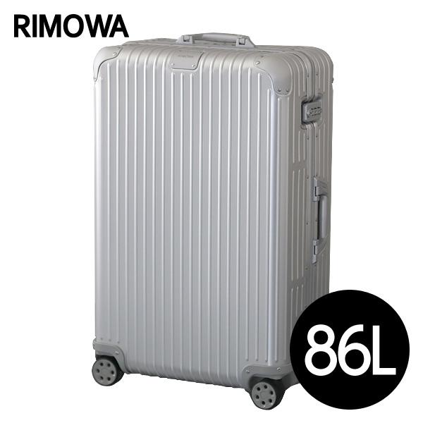 リモワ RIMOWA スーツケース オリジナル チェックインL 86L シルバー ORIGINAL Check-In L 925.73.00.4【他商品と同時購入不可】