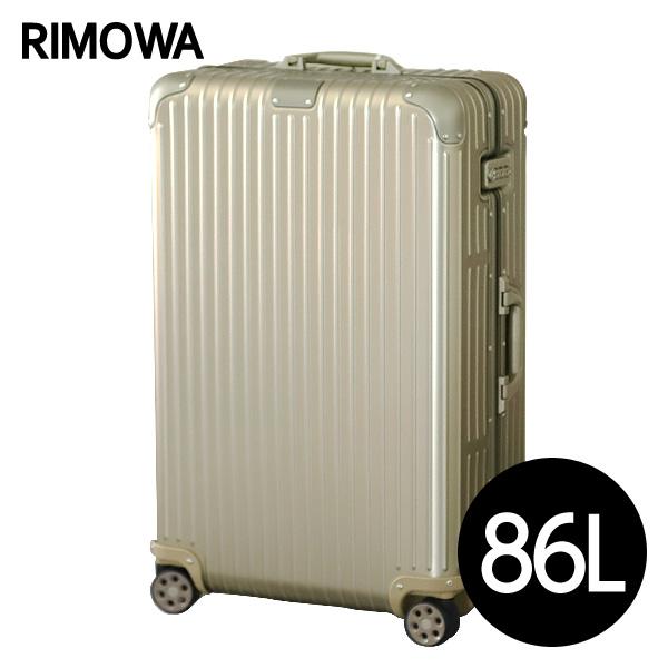 リモワ RIMOWA スーツケース オリジナル チェックインL 86L チタニウム ORIGINAL Check-In L 925.73.03.4【他商品と同時購入不可】