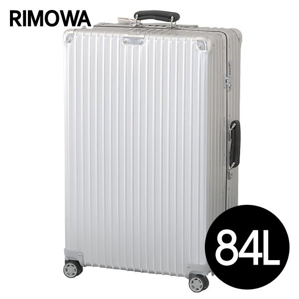 リモワ RIMOWA スーツケース クラシック チェックインL 84L シルバー CLASSIC Check-In L 972.73.00.4【他商品と同時購入不可】