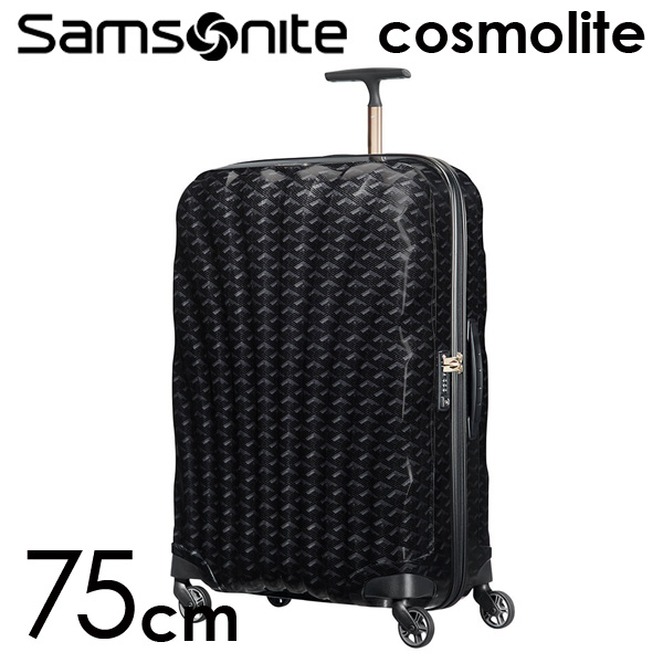 Samsonite スーツケース Cosmolite3.0 コスモライト3.0 75cm TD ブラックプリント 115314-2878